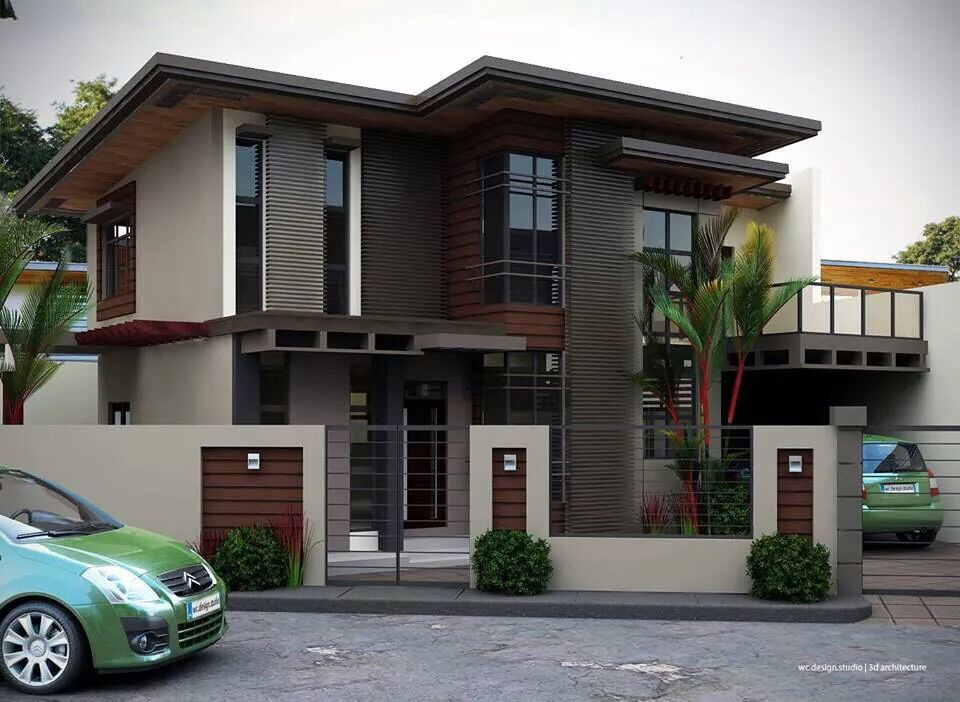 House designs nairobi for Two story house exterior design