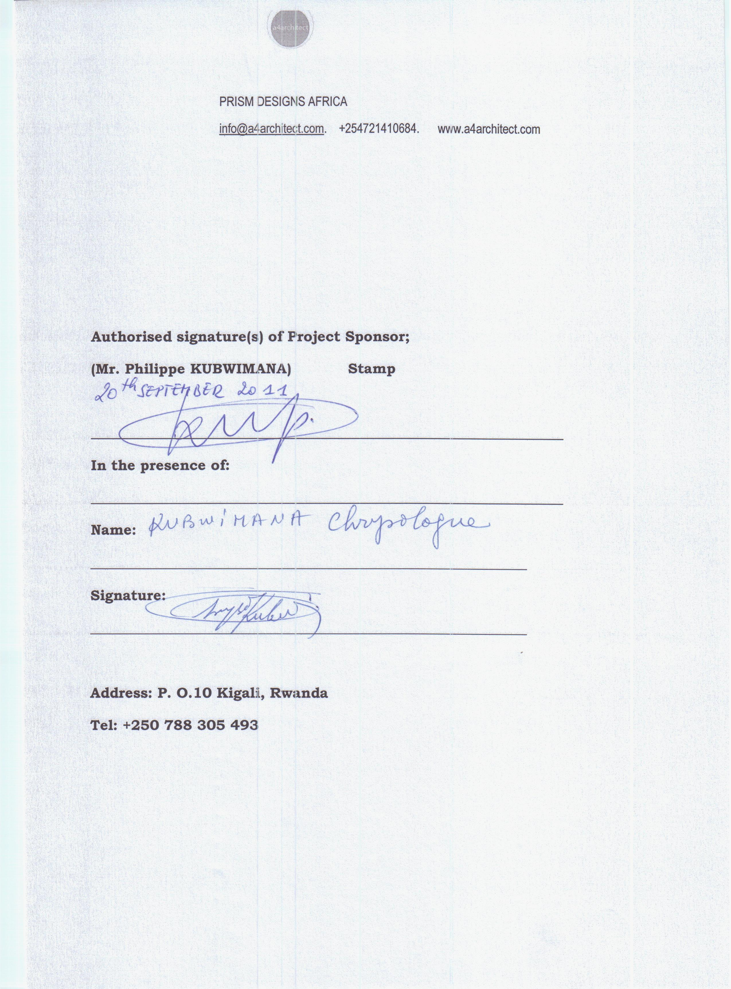 signed agreement Prism Designs Africa 004