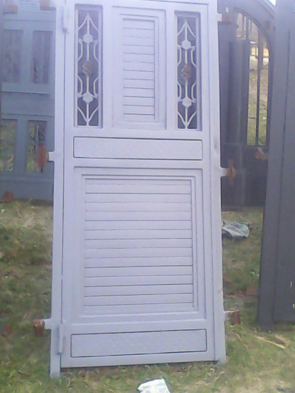 Steel doors and gates locally made for Door design nigeria