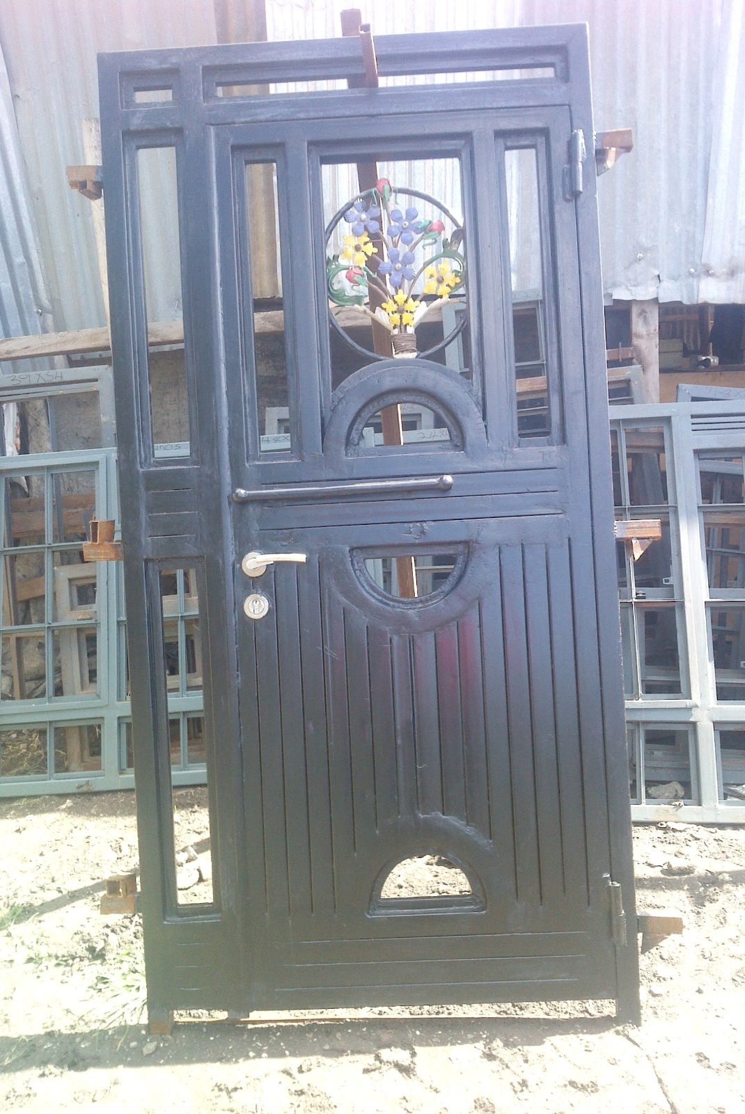 Steel doors and gates locally made for Steel front doors for sale