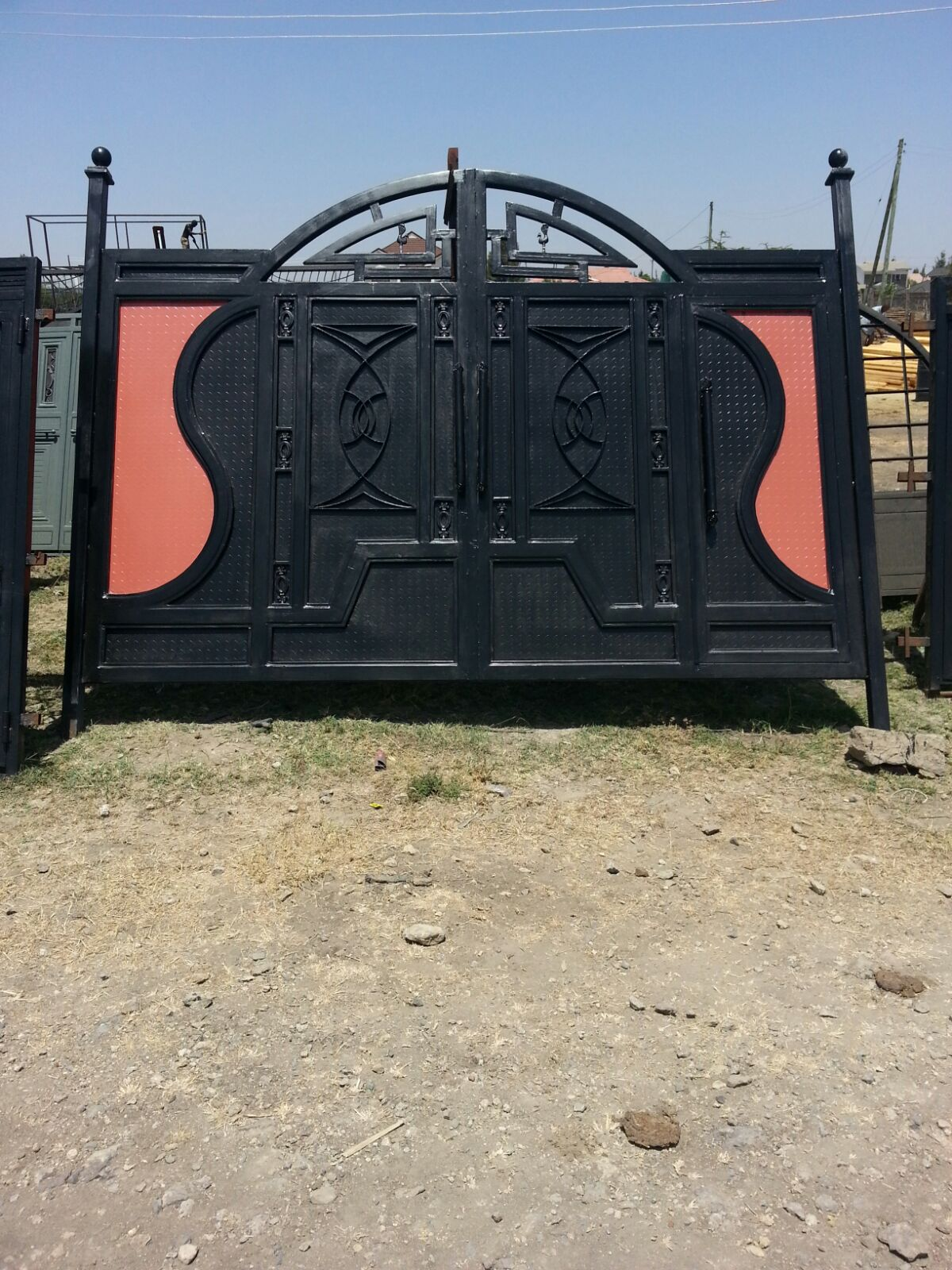 Home Design With Plans Pictures Steel Doors And Gates Locally Made A4architect Com